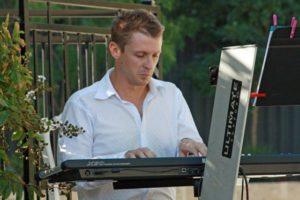 Simon Montgomery provides music at numerous wedding ceremonies.