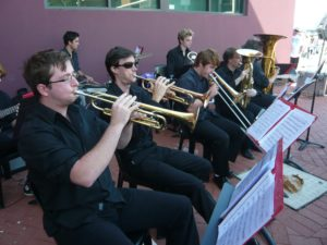 St Thomas Big Band Trumpet Section